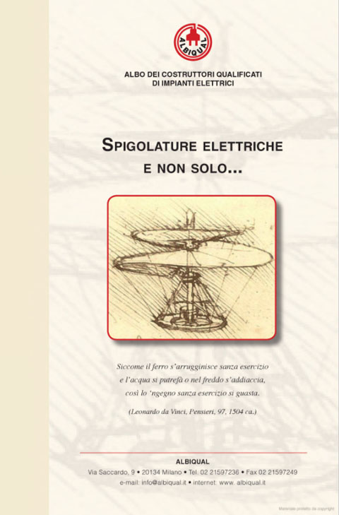 Spigolature elettriche e non solo...