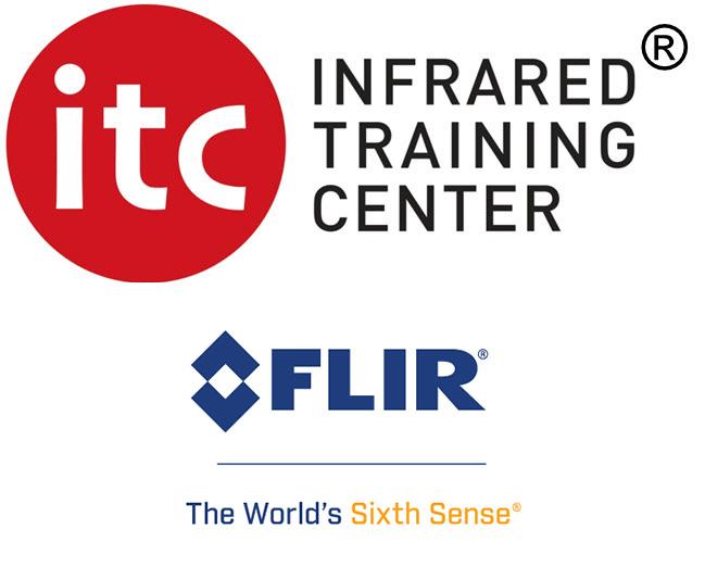 Logo ITC e logo flir